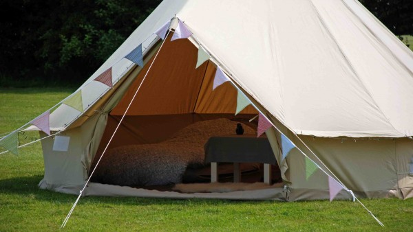 Honeybells Tent Hire in Dorset